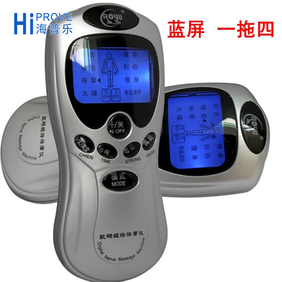 Electric Tens Acupuncture Digital Meridian Therapy Massagers Machine Made in China