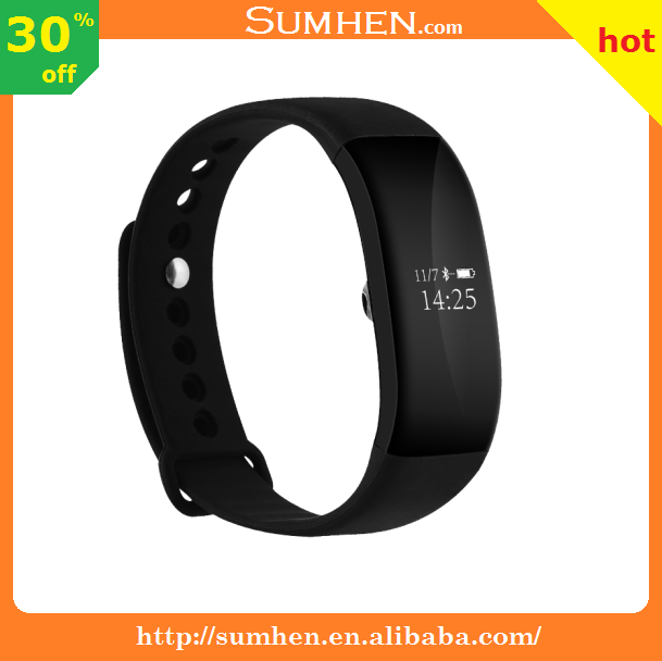 v66 bracelet intelligent monitoring blood pressure heart rate