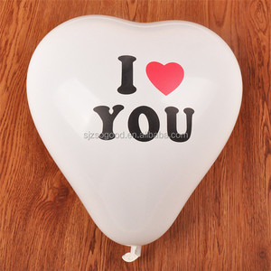 High Quality Wedding Site Assorted Heart Shaped Latex Balloons For Wedding Room Decorate
