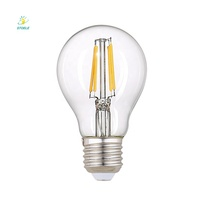 8 years manufacture free samples A19 A60 E26 E27 COB light dimmable retro LED filament bulb
