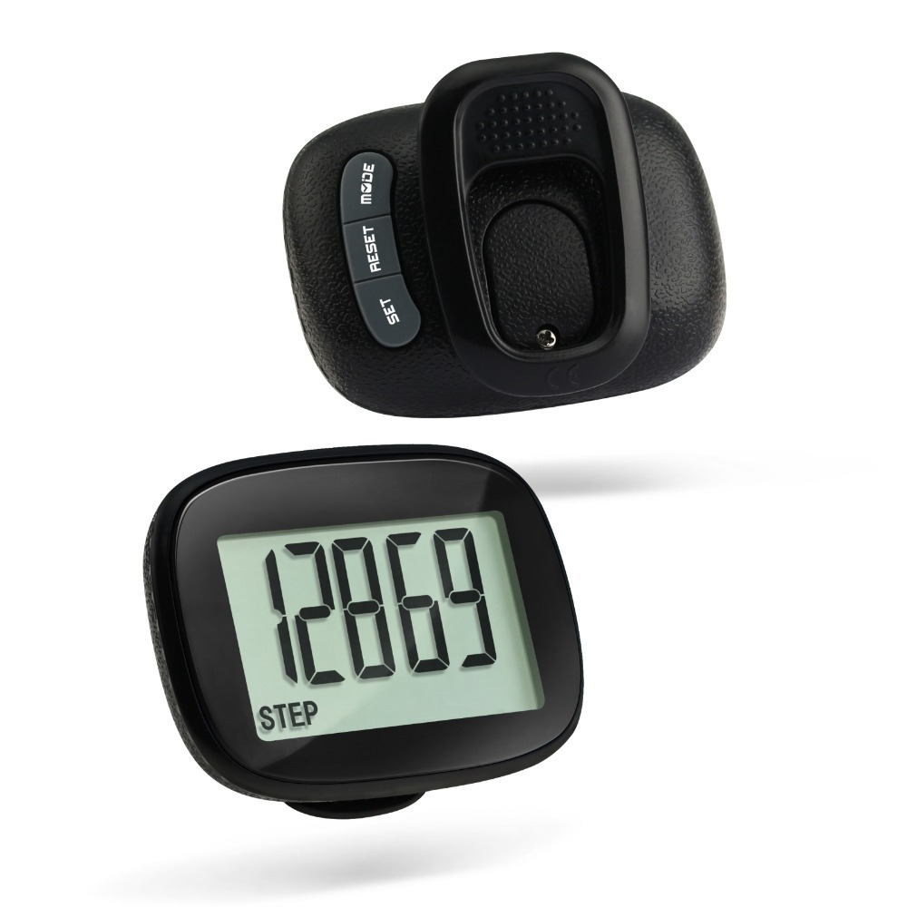 Digital 2D Multi-Function Calorie Step Counter Pedometers