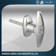 MS316-1-A Zinc alloy T handle lock for cabinet and garage door