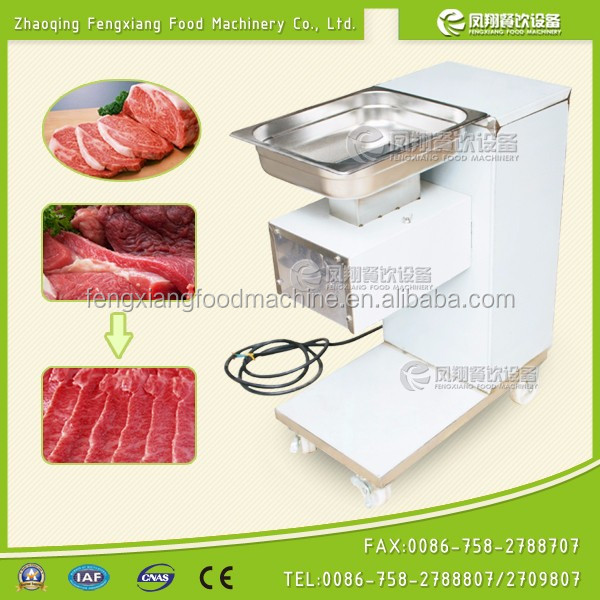 2016 popular cheap high efficient meat stripping machine, mini type meat cutting shredding slicer machine