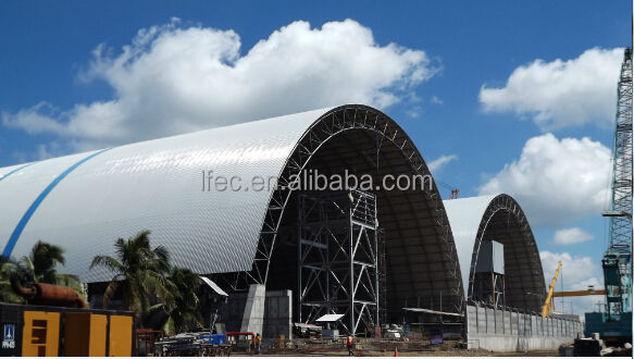 Coal Power Plant Steel Building Electrical Power Projects