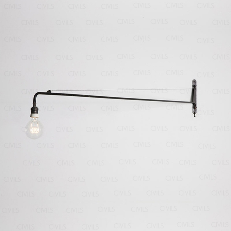jean prouve potence wall lamp small buy jean prouve potence wall lamp jean prouve potence. Black Bedroom Furniture Sets. Home Design Ideas