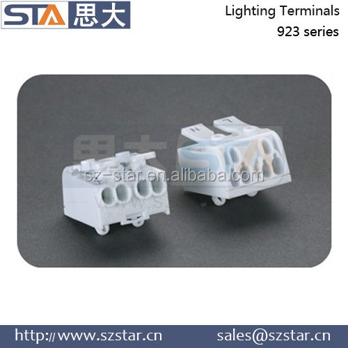 Hot Sell wire connector BJB Pushwire Terminals 2 3 4 5 Pole wire connector