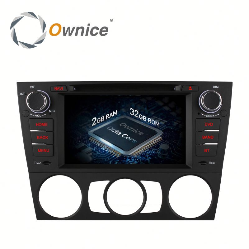 Ownice Octa Core Android 6.0 2G Ram car stereo for bmw E90 3 Series Saloon 2005-2012 Built-in Wifi 4G LTE support DAB DVR