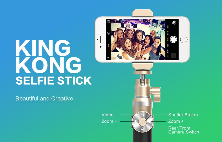 king kong selfie stick