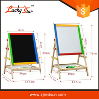 A3 Portable Kids Erasable Magnetic Drawing Board With Legs And ...
