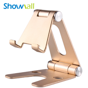 Handy foldable metal stand support to smartphone table desktop bedside tablet mount holder for ipad