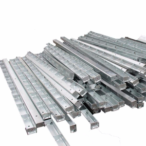 galvanized transmission steel electrical post prices 75feet