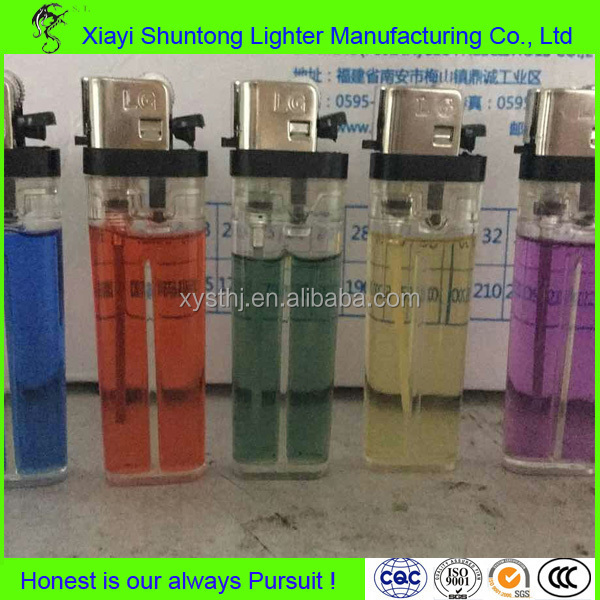 Factory cheap disposable plastic dual arc lighter