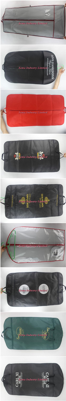 Bolsas de plastico para vestidos de novia