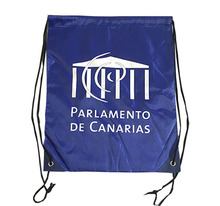 Promotional items 210D polyester drawstring backpacks bags in backpack