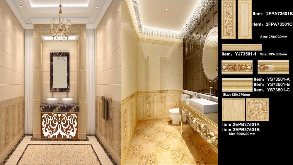 Bagno di lusso di disegno interni piastrelle di ceramica per pavimenti e buy product on - Piastrelle di lusso ...