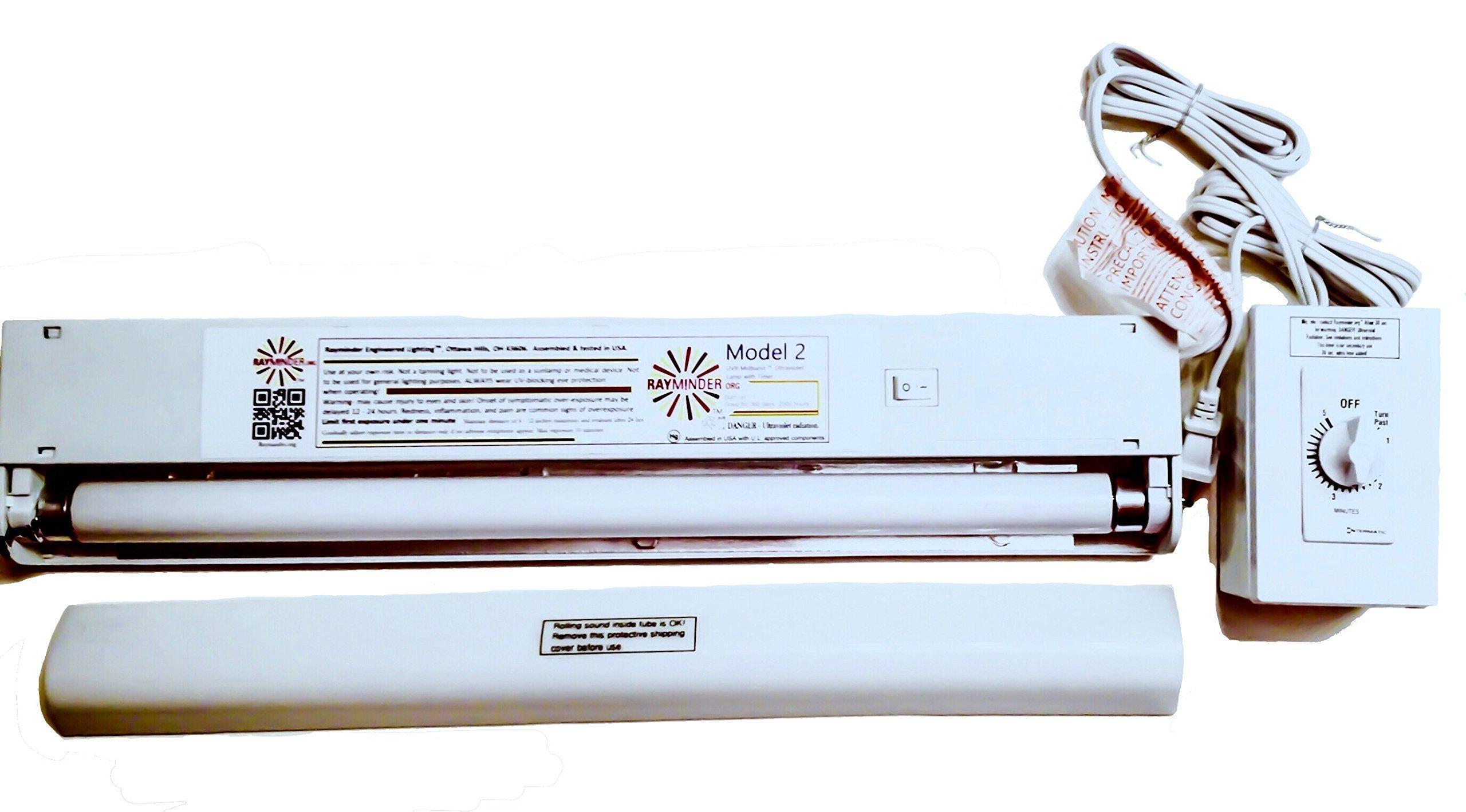UVB Midband TM Ultraviolet Lamp with Twist Timer 120v