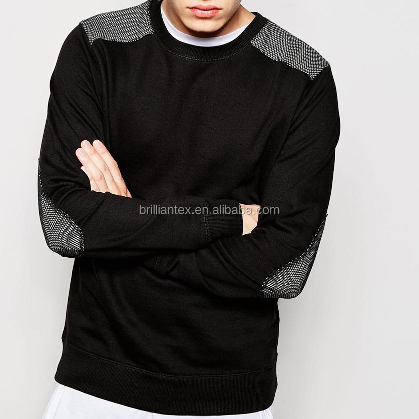 Fashion Crewneck Sweatshirt Custom Cotton Fleece Streetwear Men ...