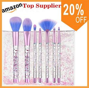 Amazon best sellers Hot selling new makeup brush supplier private label glitter bag makeup brush