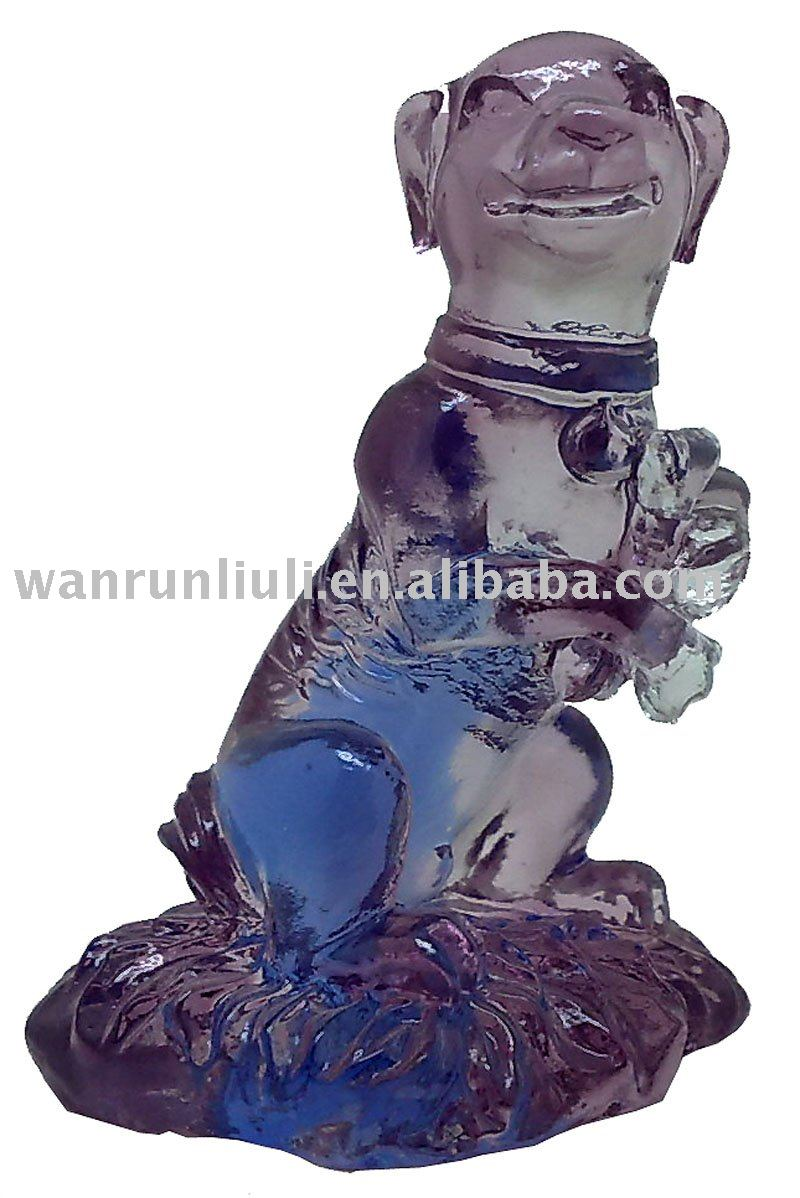 Chinese zodiac anmal --crystal dog --BJ131