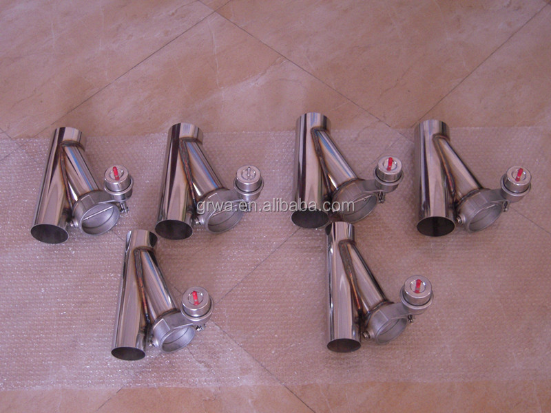 Vacuum Exhaust Valves WITH Y PIPE