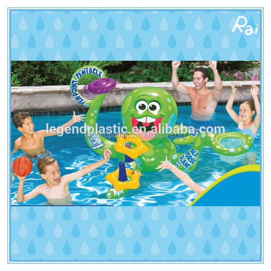Pulpo inflable juguetes de agua grandes juguetes para la for Pulpo para piscina