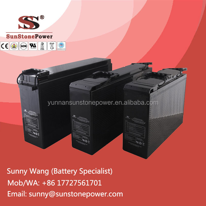 Deep Cycle 12V 155AH UPS Power Storage Rechargeable Lead Acid battery