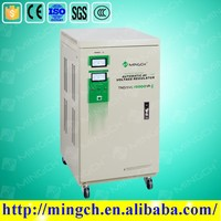 new type single phase full automatic servo motor control stabilizer/regulator for home