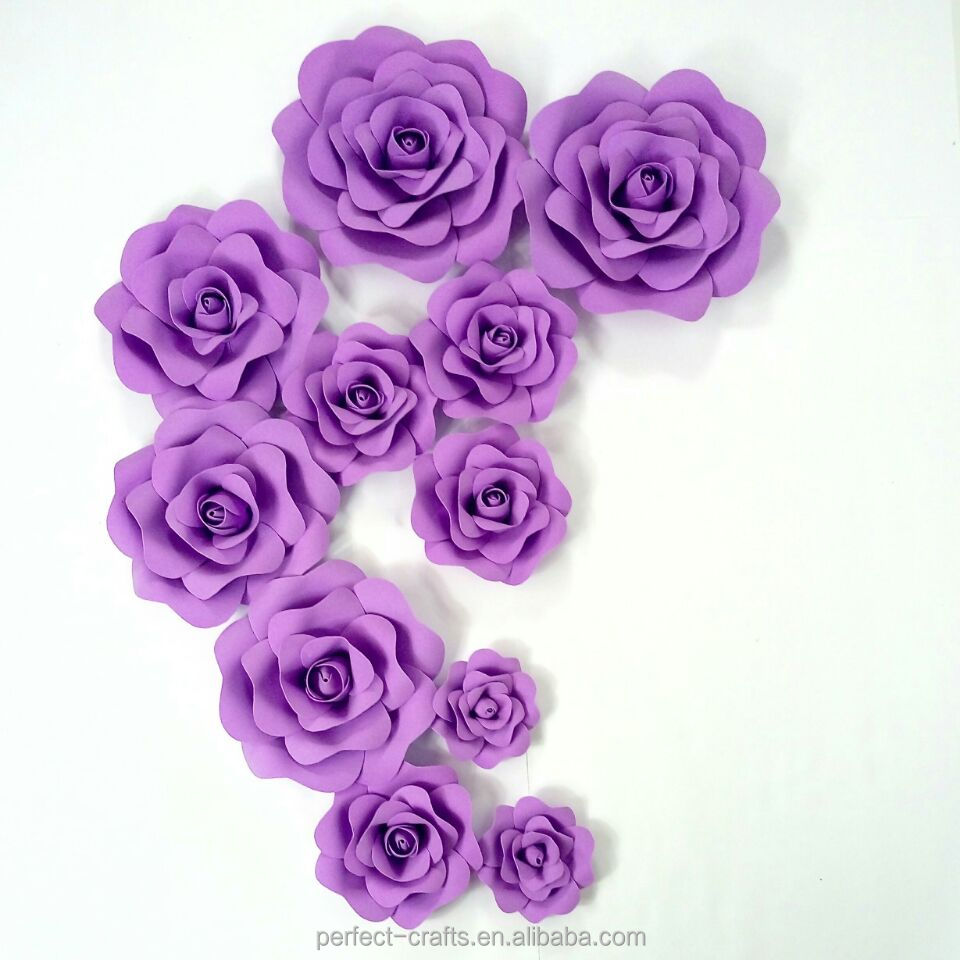Purple Paper Flowers Wholesale Paper Flowers Suppliers Alibaba