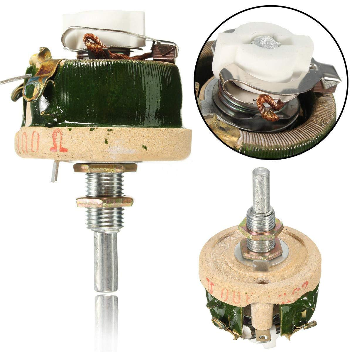 cheap variable resistor rheostat, find variable resistor rheostatget quotations · 1pc wirewound potentiometer rheostat variable resistor 25w 300 ohm