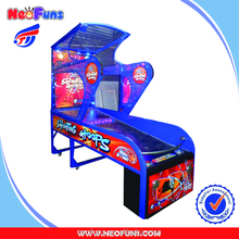 High Quality Coin Operated Indoor Amusement Street Basketball Arcade Game Machine Lottery Arcade Game For Sale
