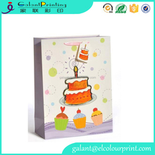 Recycled Birthday Gift Paper Bag Packaging With OEM Printing Wholesale Alibaba