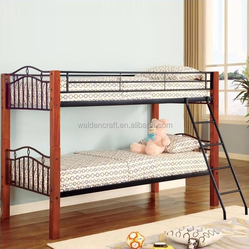 Venta al por mayor camas de fierro y madera-Compre online los ...