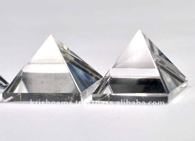 Crystal Quartz Pyrmaid / Wholesale New AGe & Metaphysical Item / Wholesale PYramid / AAA Quality Crystal Quartz PYramid