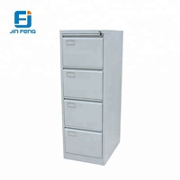 Metal 4 Drawer File Large Storage Cabinet