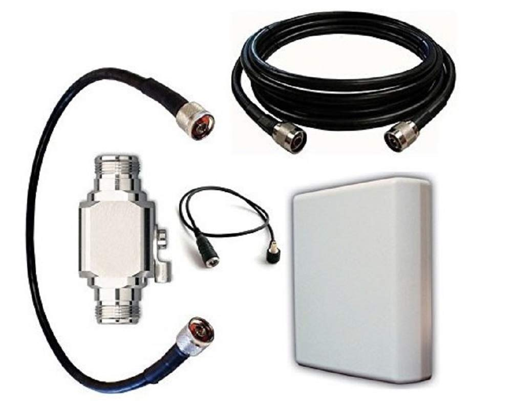 High Power Antenna Kit for AirLink Raven RV50X LTE Gateway with Panel Antenna and 50 ft Cable