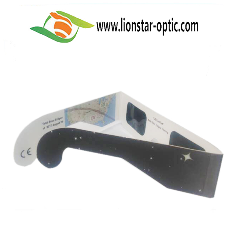 High Quality Promotional 3d Glasses OEM Solar Eclipse Glasses With Low MOQ
