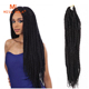 wholesale synthetic ombre havana mambo crochet braid for black women