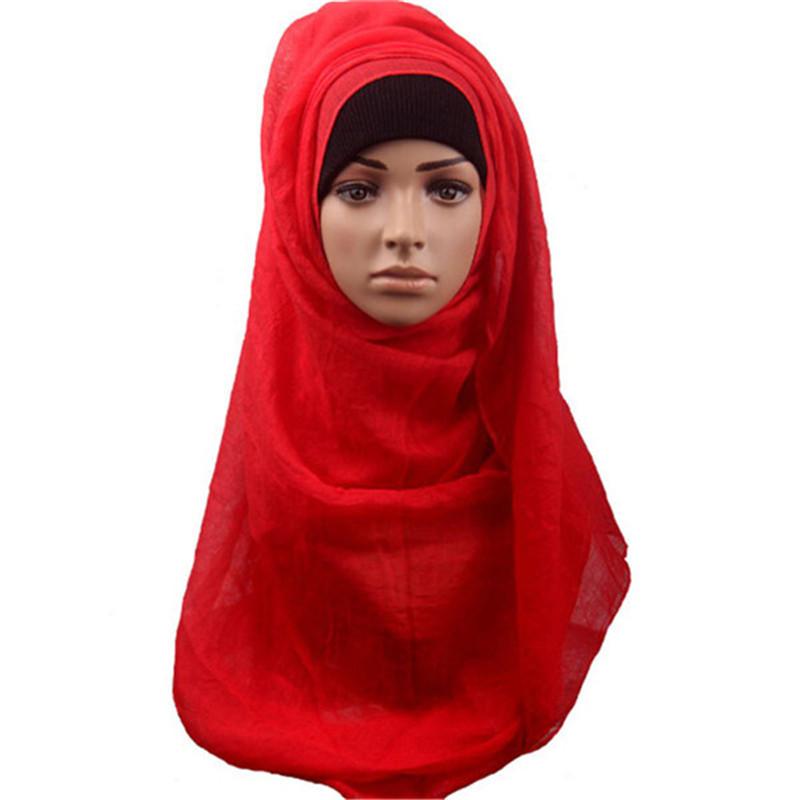 Get Quotations  C2 B7 1pcs Fashion 13 Colors Fashion Islamic Turban Muslim Women Hijab Short Hijab Shawls Arab Women Scarf