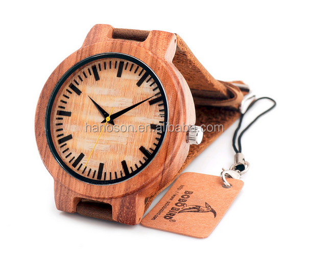 BOBO BIRD Top brand Bobobird Men's Wood Watch wrist wooden watches mens womens gift