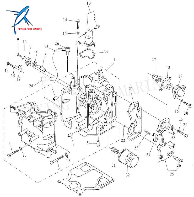 yamaha 115 4 stroke fuel system diagram