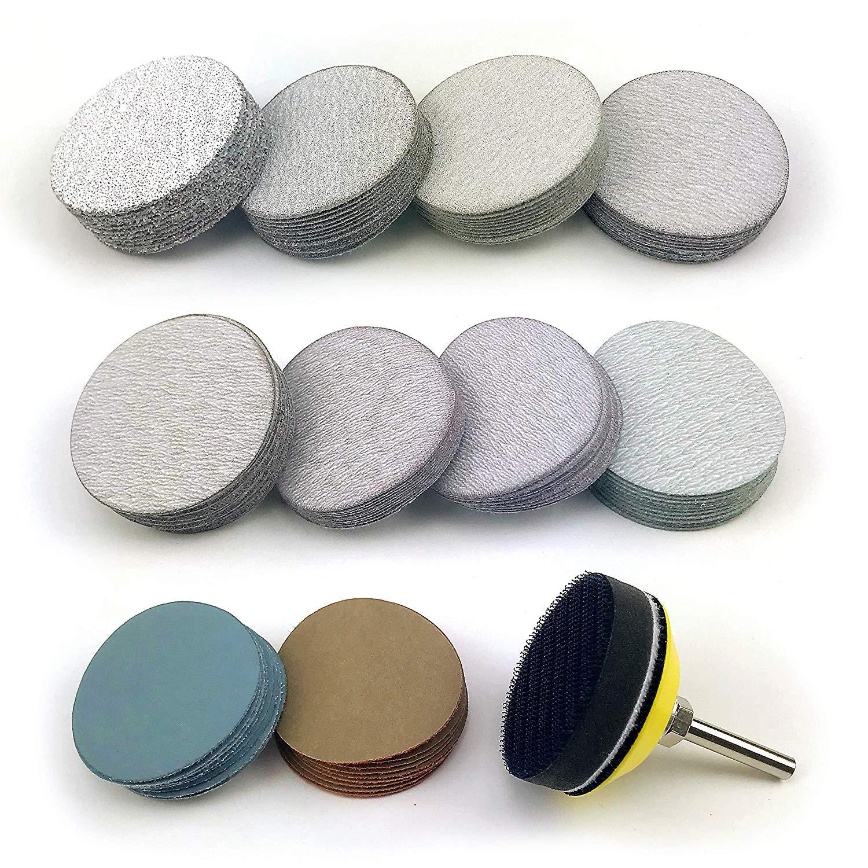 """10PCS Wet or Dry Autobody 6/"""" Waterproof Hook and Loop Sanding Discs 400 Grit"""