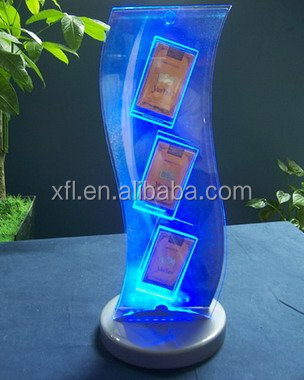 High Quality Led Clear Acrylic Cigarette Rack Manufacturer