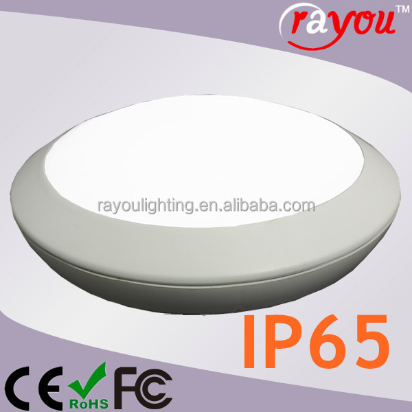 Waterproof Steam Room Led Ceiling Light Surface Mount Round Fixture Ip65 Lighting Fixtures