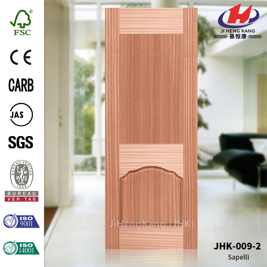JHK-009-2 High Quality Anti-fire Government Building Materials Door Skin