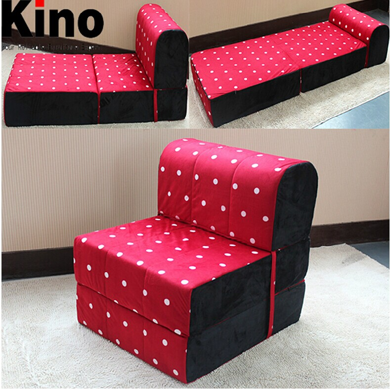 Folding Foam Sofa Cotton Twill Z Bed Double Size Fold Out Chairbed Chair Foam Thesofa