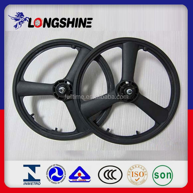 Small Plastic Rim Bicycle Wheel 20 Inch