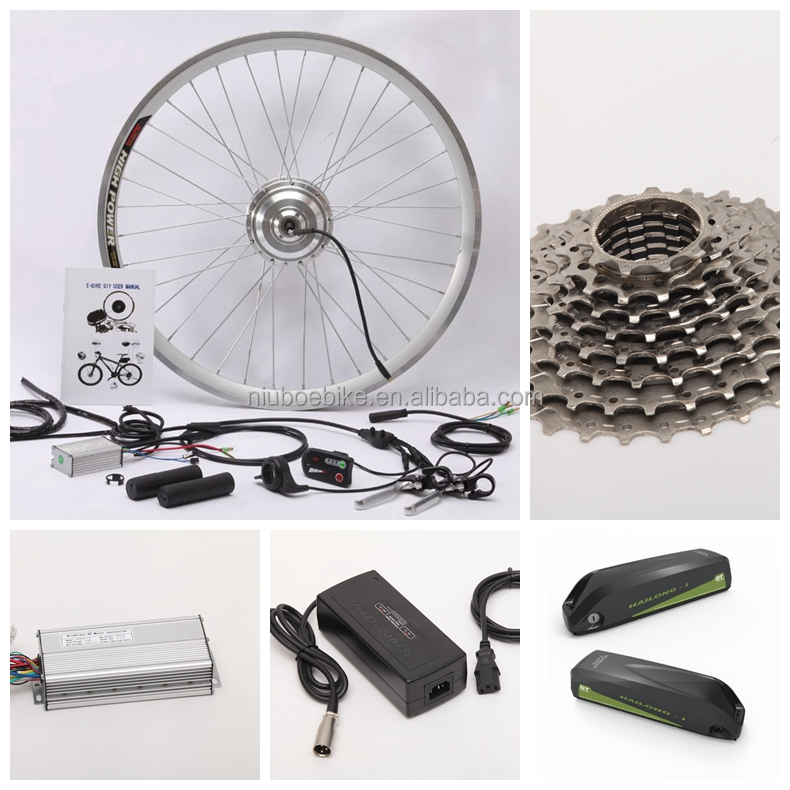Conversion Kit With Brushless E-bike Motor
