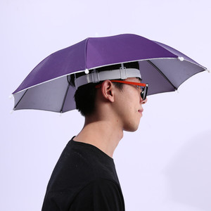 34*8K Cheap Color Changing Umbrella Hat Hot Sale