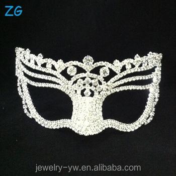 beauty design masquerade rhinestone wedding mask face mask