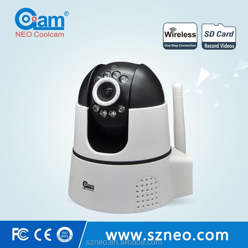 NEO alarm wifi kit with 6 devices in total including surveillance cameras for anti theft